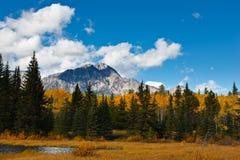 Pyramid Mountain, Canada Stock Photography