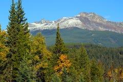 Pyramid Mountain near Jasper Royalty Free Stock Photo