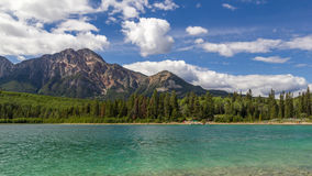 Pyramid Mountain Patricia Lake Jasper National Park Alberta, Canada Stock Photos