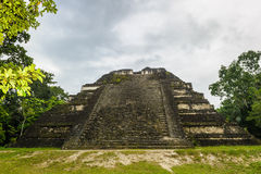 Pyramid of Mundo Perdido Stock Photography