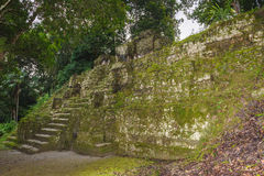 Pyramid of Mundo Perdido Stock Photo