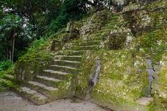 Pyramid of Mundo Perdido Stock Images