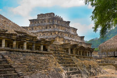 Pyramid Of The Niches. El Tajin Veracruz Royalty Free Stock Photography
