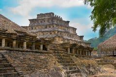 Pyramid Of The Niches. El Tajin Veracruz Royalty Free Stock Photography