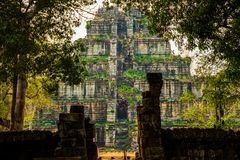 Free Pyramid Of Ancient Complex Koh Ker, Cambodia Royalty Free Stock Photography - 118901267