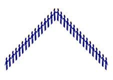 Pyramid Of Men Royalty Free Stock Image