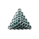 Pyramid Of Nuts On Top View Royalty Free Stock Image