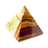Pyramid of onyx Royalty Free Stock Images