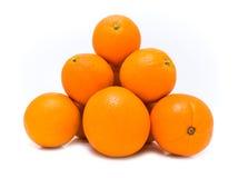 Pyramid with orange Stock Image