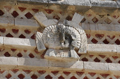 Pyramid på Uxmal Arkivbilder