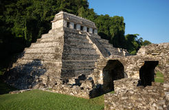 Palenque mayan ruins-monuments Chiapas Mexico Stock Photography