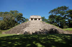 Palenque mayan ruins-monuments Chiapas Mexico Royalty Free Stock Photos