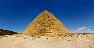 Pyramid panorama Stock Photos