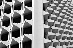Pyramid pattern. Pattern of structure on building Royalty Free Stock Photos