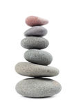 The pyramid of pebbles Royalty Free Stock Photography
