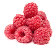 Pyramid of ripe raspberry Royalty Free Stock Photo
