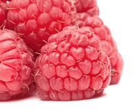 Pyramid of ripe raspberry Stock Photography