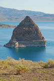 Pyramid Rock Royalty Free Stock Images