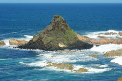 Pyramid rock at phillip island Stock Images