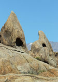 Pyramid Rocks Royalty Free Stock Photo