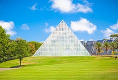 Pyramid at  Royal Botanic Gardens in Sydney, Australia. Royalty Free Stock Photography