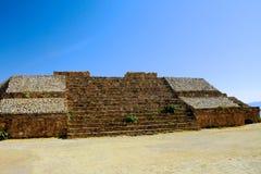 Pyramid Ruins 5, Mexico. The pyramid ruins of Monte Alban - Oaxaca, Mexico Stock Photography