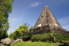 pyramid satar stirling arkivbilder