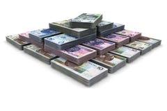 Pyramid scheme Stock Image