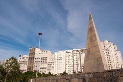 Pyramid Shape Monument Royalty Free Stock Photography