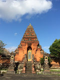 Pyramid Shaped Temple, Ubud,  Central Bali, Indonesia Stock Photo