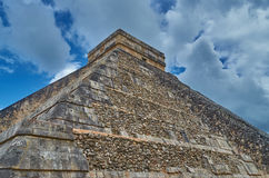 Pyramid in  the Sky Royalty Free Stock Photography