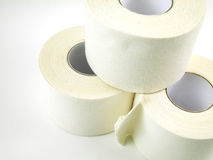 Pyramid of Sports Tape Stock Photo