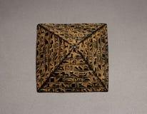 pyramid figurine royalty free stock photo