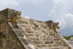 Pyramid steps, cancun Royalty Free Stock Photo