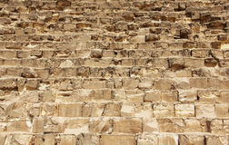 Pyramid stone rows Royalty Free Stock Image