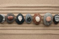 Pyramid of stones Stock Photography