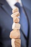 Pyramid of success Royalty Free Stock Image