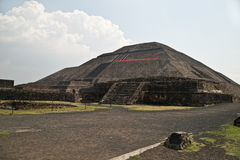 Pyramid of the Sun Royalty Free Stock Image