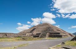 Pyramid of the Sun Stock Image