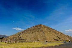 Pyramid of the Sun, Mexico Stock Photo