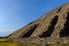 Pyramid of the Sun, Mexico Stock Photography