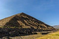Pyramid of the Sun, Mexico Royalty Free Stock Photography