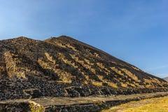 Pyramid of the Sun, Mexico Royalty Free Stock Photos