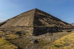 Pyramid of the Sun, Mexico Stock Photos
