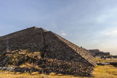 Pyramid of the Sun, Mexico Royalty Free Stock Images