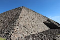Pyramid of the Sun stock photography