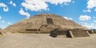 Pyramid of the Sun Stock Photography