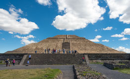 Pyramid of the Sun Royalty Free Stock Images