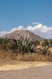Pyramid of the Sun. Teotihuacan Stock Image