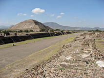 Pyramid of The Sun Teotihuacan Royalty Free Stock Photography